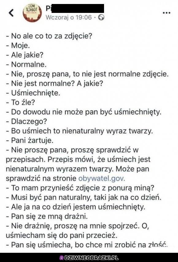 Typowa wizyta w polskim urzędzie
