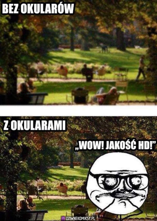 Świat w okularach