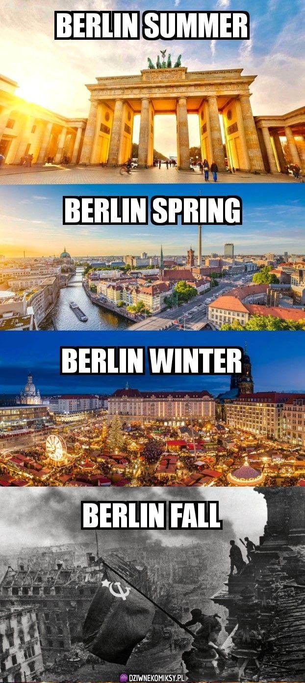 Pory roku w Berlinie