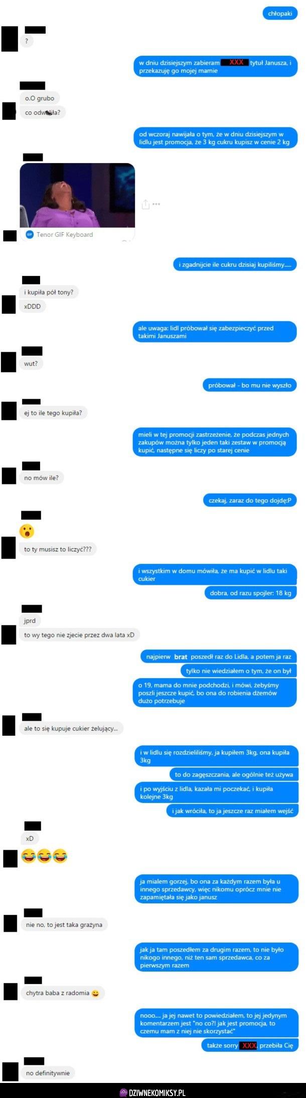 Historia o matce anona