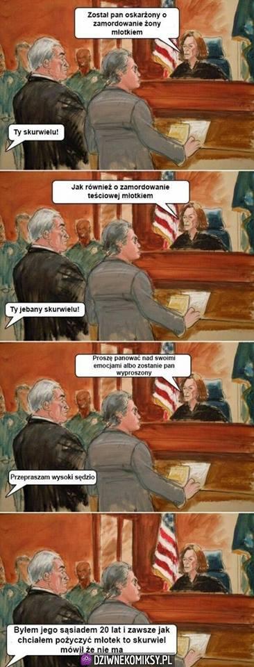 Morderca w sądzie