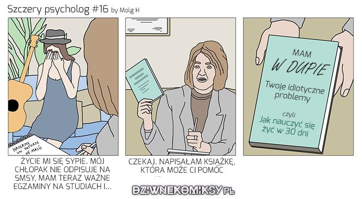 Szczery Psycholog #16