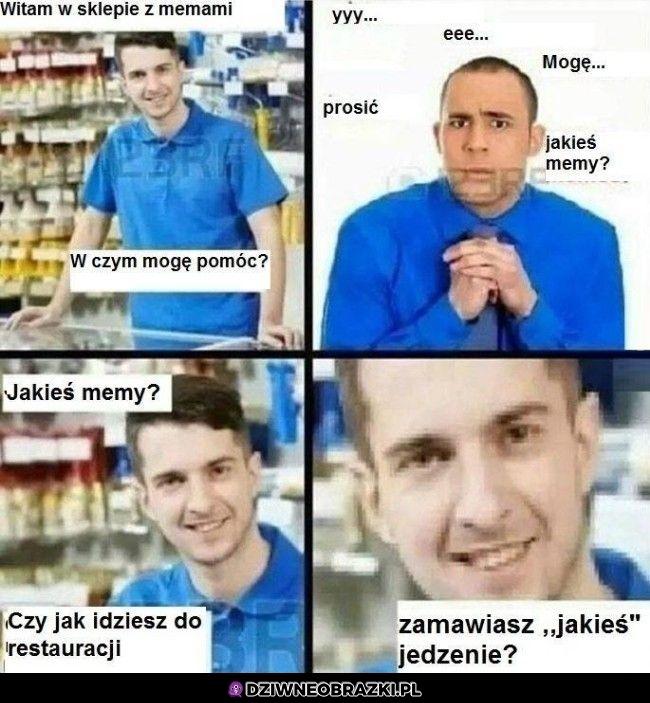 Sklep z memami