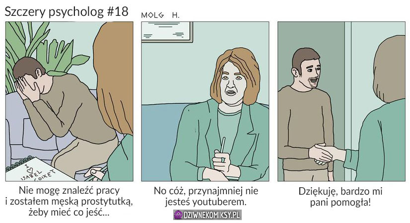 Szczery psycholog #18