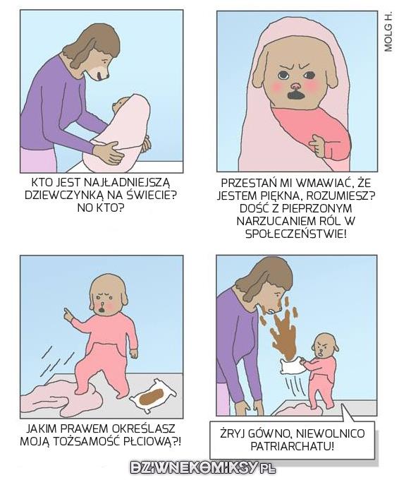 Feminazizm od urodzenia