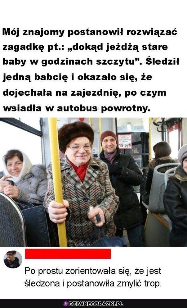 Stare baby w autobusach