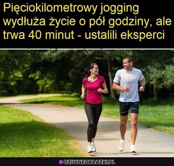 Jogging taki jest