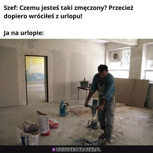 Typowy polski urlop