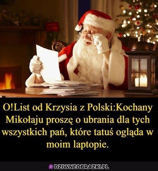 O list z Polski