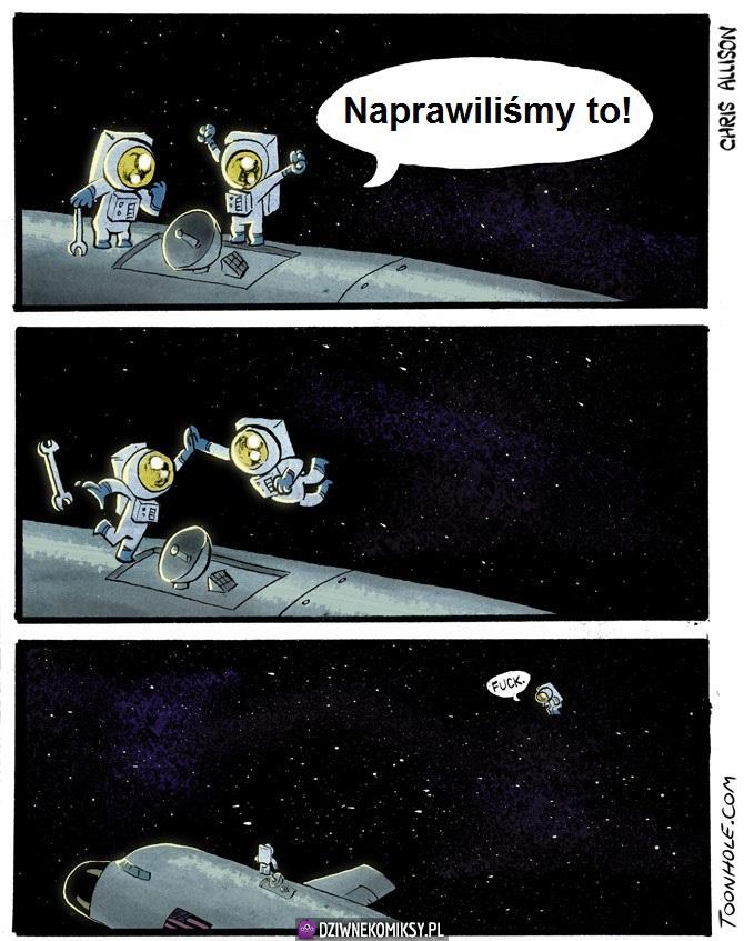 Piąteczka w kosmosie