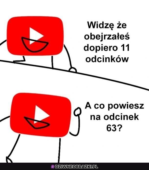 Dzięki youtube