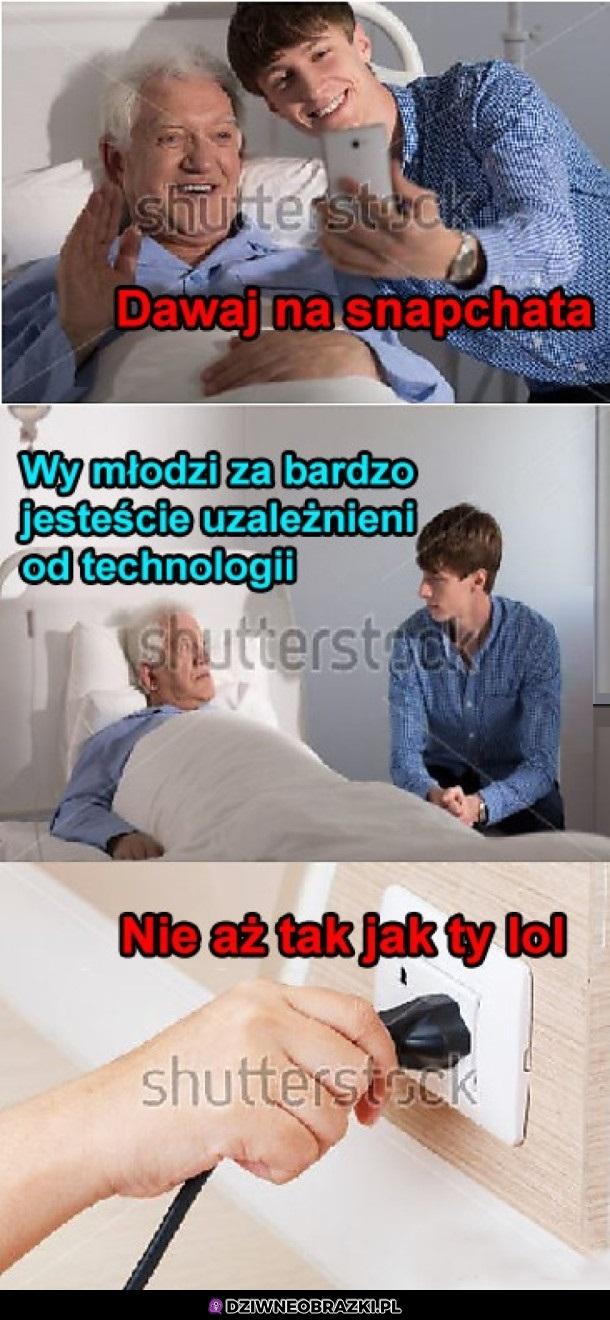 Uzależnienie od technologii