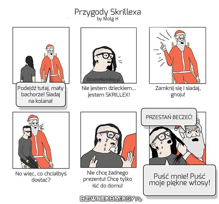 Świąteczne przygody Skrillexa