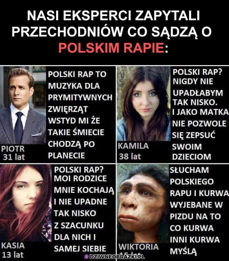 Słuchacze polskiego rapu