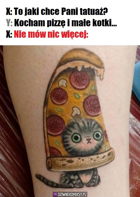 Idealny tatuaż nie istnie...