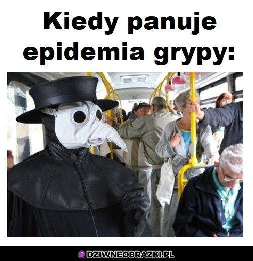 Kiedy grypa panuje