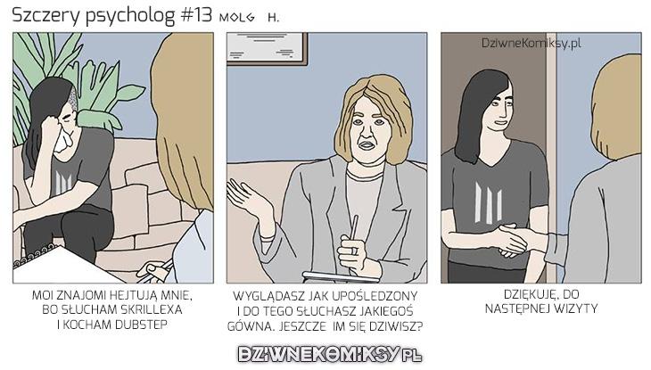 Szczery psycholog #13