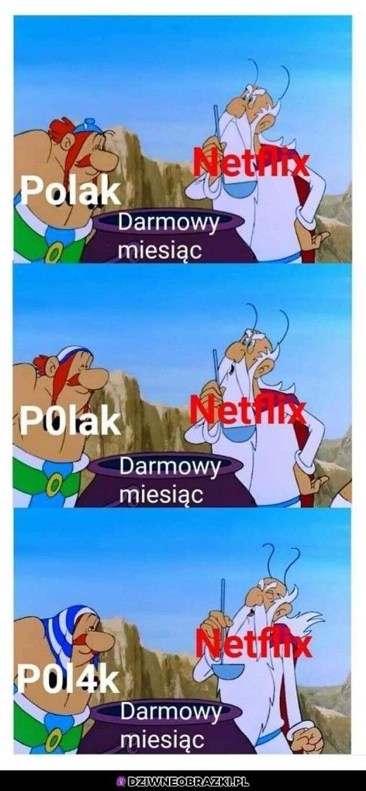 Polacy i Netflix