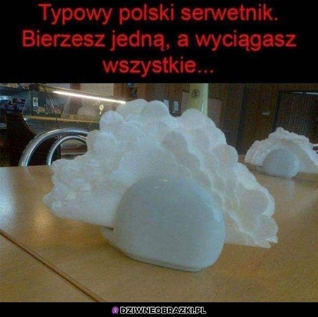 Polski serwetnik