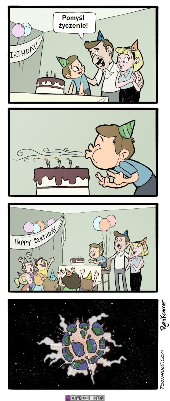 Życzenie urodzinowe