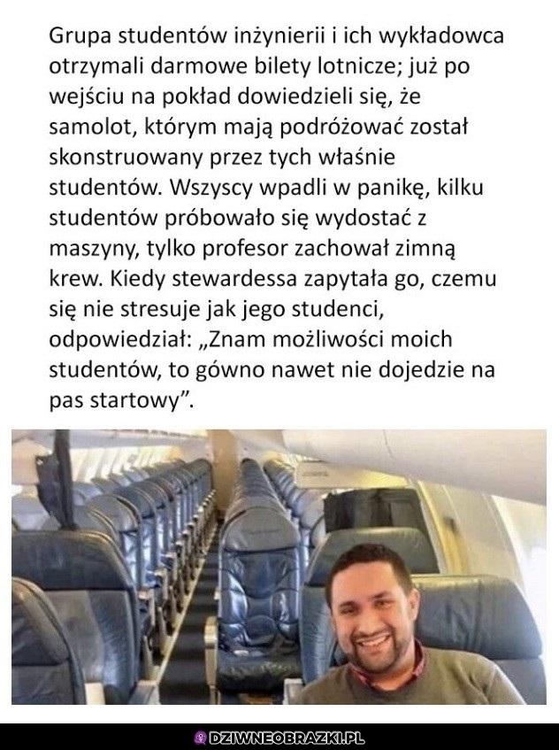 Krótka historia o studentach, którzy budowali samolot