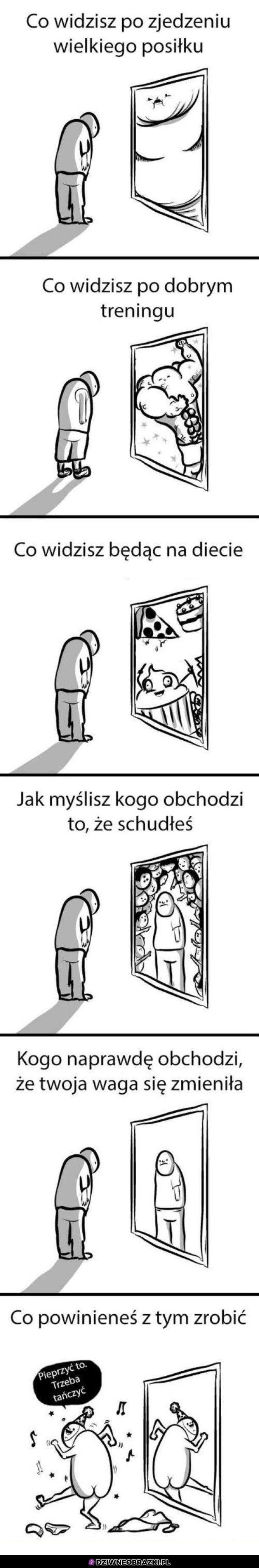 Co widzisz w lustrze?
