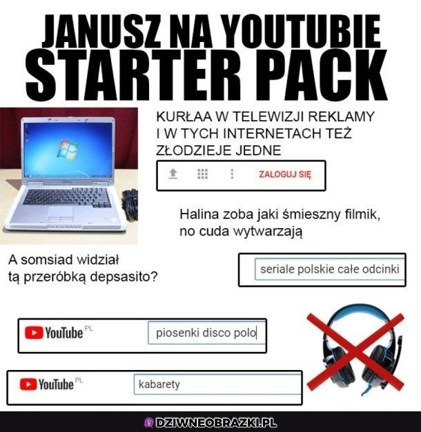 Janusze na youtube