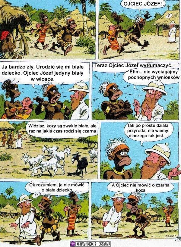 Ojciec Józef się tłumaczyć!