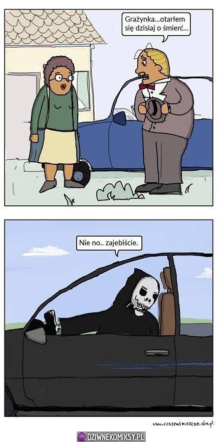 Otarł się o śmierć