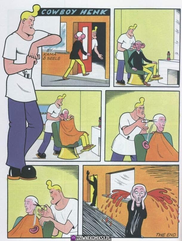 Kowboj Henk - fryzjer