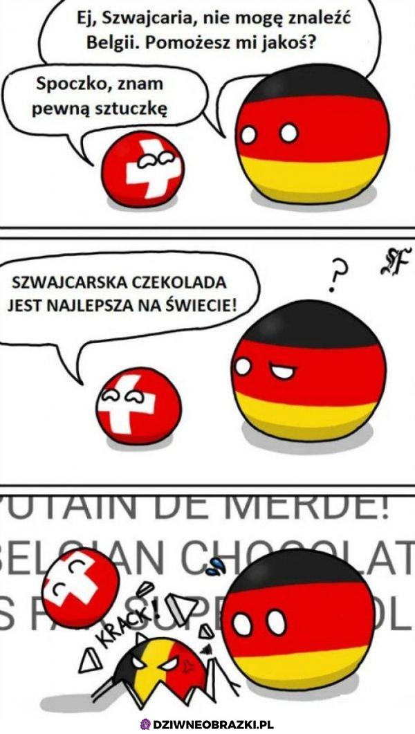Gdzie jest Belgia
