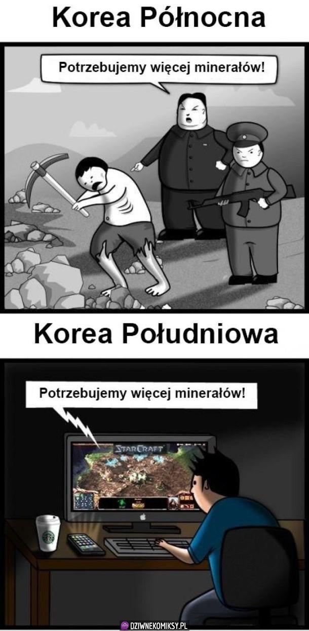 Różnica między Koreami